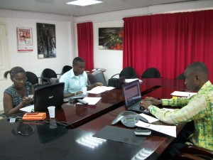 Participants meet face-to-face in Accra