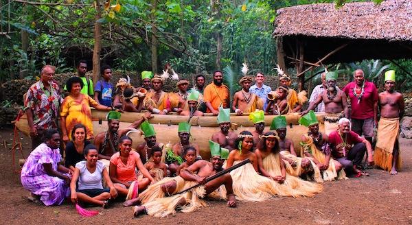 Amazing Vanuatu canoe launch web