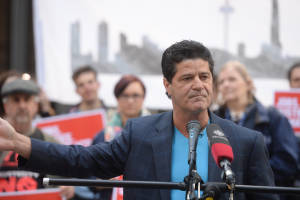 President of Unifor, Canada's largest public sector union, Jerry Dias represents thousands of workers in oil and gas and recognizes that we need to be moving towards a new, renewables based economy.