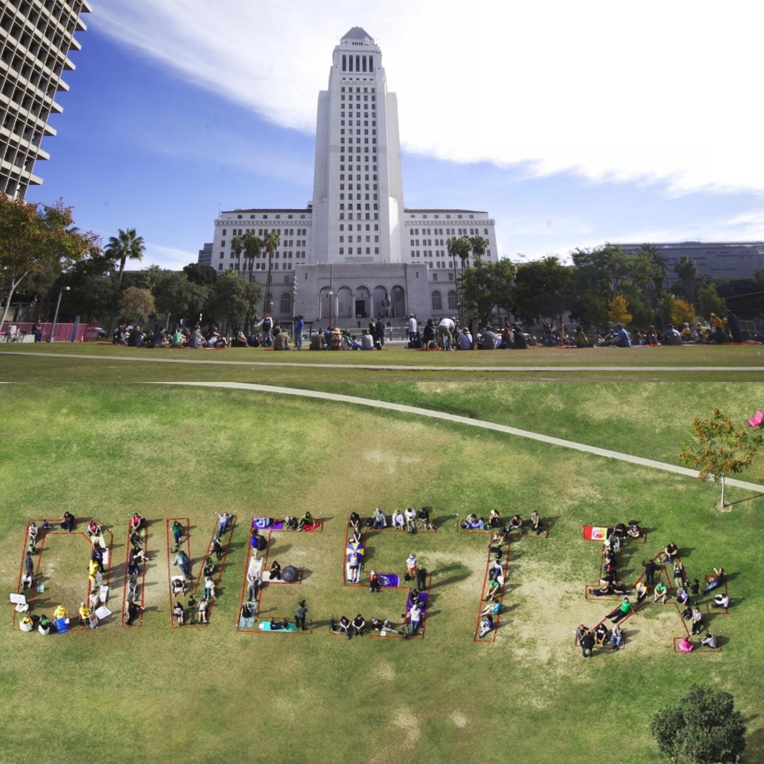 Fossil fuel divestment, Los Angeles, Wells Fargo
